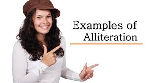 examples of alliteration alliteration examples youtube