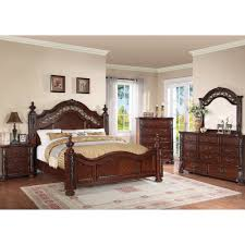 Mirrored Furniture Bedroom Set Charleston Bedroom Bed Dresser U0026 Mirror King 55865