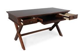 Ashley Office Desk by Ashley Burkesville X Leg Desk Mathis Brothers Furniture