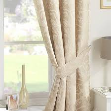 How To Fit Pencil Pleat Curtains Crompton Natural Ready Made Curtains Pencil Pleat Curtains
