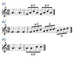 counting musical duplets with audio