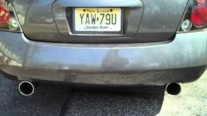 nissan altima 2005 gray obx exhaust 2005 nissan altima v6 3 5 youtube