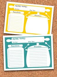 best 25 printable recipe cards ideas on pinterest recipe cards