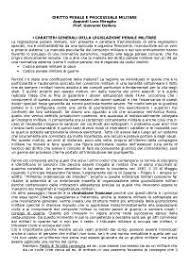 dispense diritto penale diritto penale militare appunti riassunti esami dispense docsity