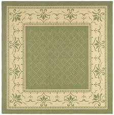 Classic Accessories Veranda Round Square - weather resistant wilton area rug safavieh com