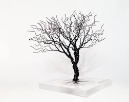 wire tree sculpture by wiremytree on etsy