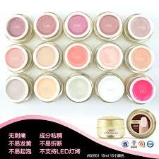 canni natural pastel color uv builder gel camouflage uv gel