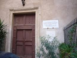 ingresso s file monti s agata dei goti ingresso su via panisperna dedica