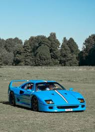 blue f40 chrome blue f40 mmmm cars