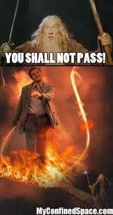 You Shall Not Pass Meme - image 222595 you shall not pass know your meme