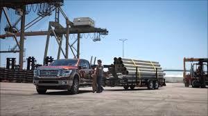nissan titan towing capacity 2016 nissan titan towing youtube