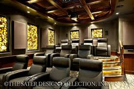 Media Room Plans - padova house plan luxury