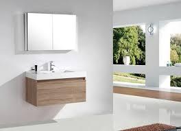 armadietto da bagno mobile da bagno a1000 rovere chiaro specchio armadietto a