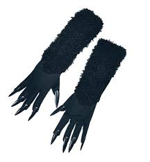 black claws black cat gloves with claws clothing