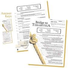 the bridge to terabithia figurative language bundle by created for
