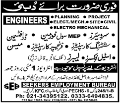 bureau of employment seekers employment bureau karachi vacancies