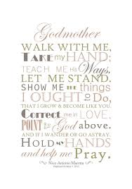 Godmother Gifts To Baby Digital File Godparents Gift Godmother Gift By Sayitinstyleart