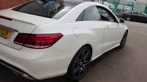 mercedes e400 cabriolet amg sport plus mercedes e400 amg sport plus finished in white at rix