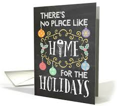there s no place like home for the holidays moving at card