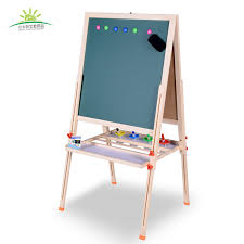 children u0027s household wood sided magnetic drawing board can lift