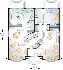 Symmetrical Floor Plans Elegant Living With Two Kitchens 21509dr Architectural Designs