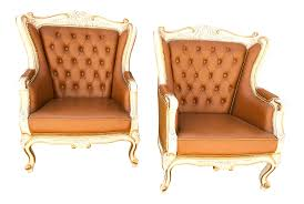 French Provincial Furniture by French Provincial Chairs A Pair Chairish