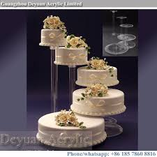 3 tier wedding cake stand 3 4 tier wedding glass cake stand acrylic pedestal stands buy