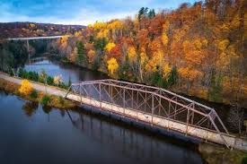 fall color tours northern michigan travel