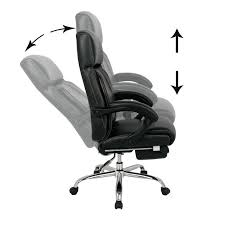 Comfy Pc Gaming Chair Desk Chairs Yaheetech Modern Swivel Office Chair Faux Leather