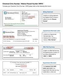 cleveland clinic imaging library myimages release form