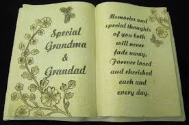 in loving memory grave book with special grandad plus
