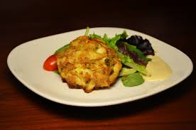 cuisine le gal of lump crab cakes grain free plated with style