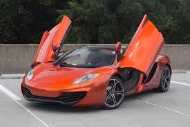 orange mclaren 12c 2014 mclaren mp4 12c stock 4n003229 for sale near vienna va