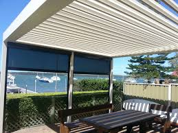 louvretec central coast outdoor blinds sun louvres window