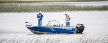 special savings on fishing boat packages