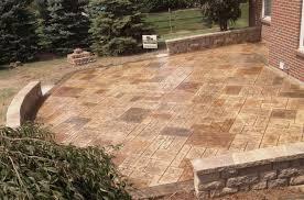 2017 Brick Paver Costs Price Stone Texture Concrete Pavers Cost Stamped Concrete Patio