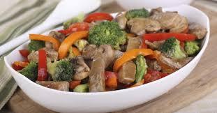 cuisiner des l馮umes sans mati鑽e grasse recette de wok de boeuf aux légumes croquants