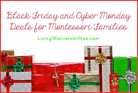 amazon and new egg black friday and cyber monday awesome black friday and cyber monday deals for montessori families