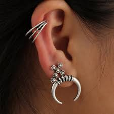 cuff piercing fashion women s helix ear cartilage cuff piercing jewelry