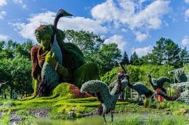 the montreal botanical garden is a large botanical garden in