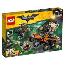 batman monster truck video amazon com lego batman movie bane toxic truck attack 70914