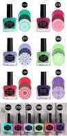 18 99 6 bottles born pretty 15ml stamping polish green pink purle
