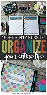 orginized this organized life binder tour organizing organizations and