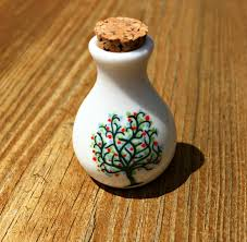 cremation tree small ceramic ashes holder tree of vial cremation funeral urn