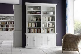 Shallow White Bookcase by Tall Distressed Bookcase Doherty House Paint Distressed Bookcase