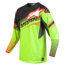 alpinestars motocross jersey alpinestars techstar factory le torch gear kit yellow black red