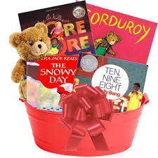 christmas gift baskets free shipping caldecott baby basket 79 95 features award winning authors and