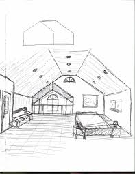 Home Design Drawing Enchanting Interior Design Bedroom Drawing 33 On Home Design With