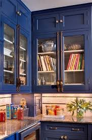 Dressing Up Kitchen Cabinets Dressing Up My China Cabinet With A Cremone Bolt Napoleonic Blue