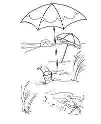 tropical beach coloring pages fish color pages many interesting cliparts